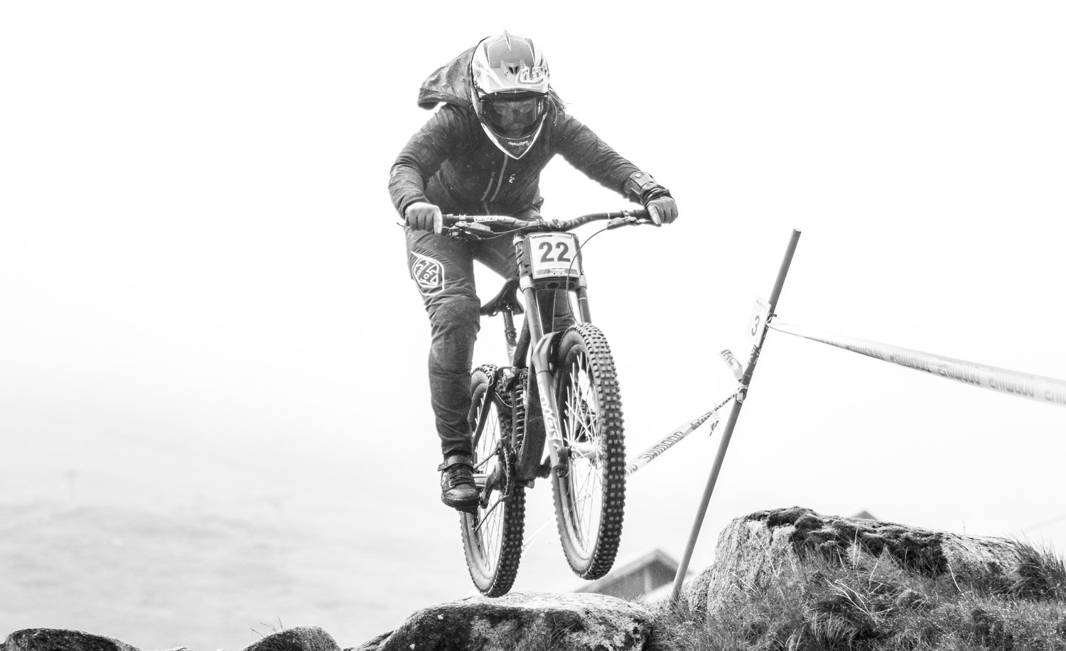 Wet, gnarly practice in Fort William, Scotland.