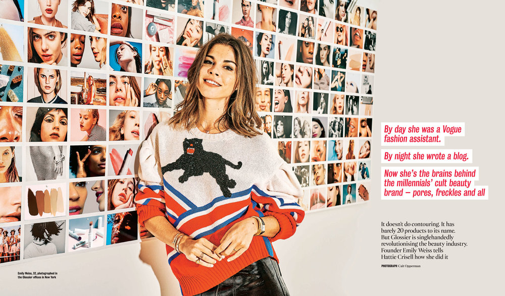 Queen of consistence: Emily Weiss, Into The Gloss & Glossier founder.
