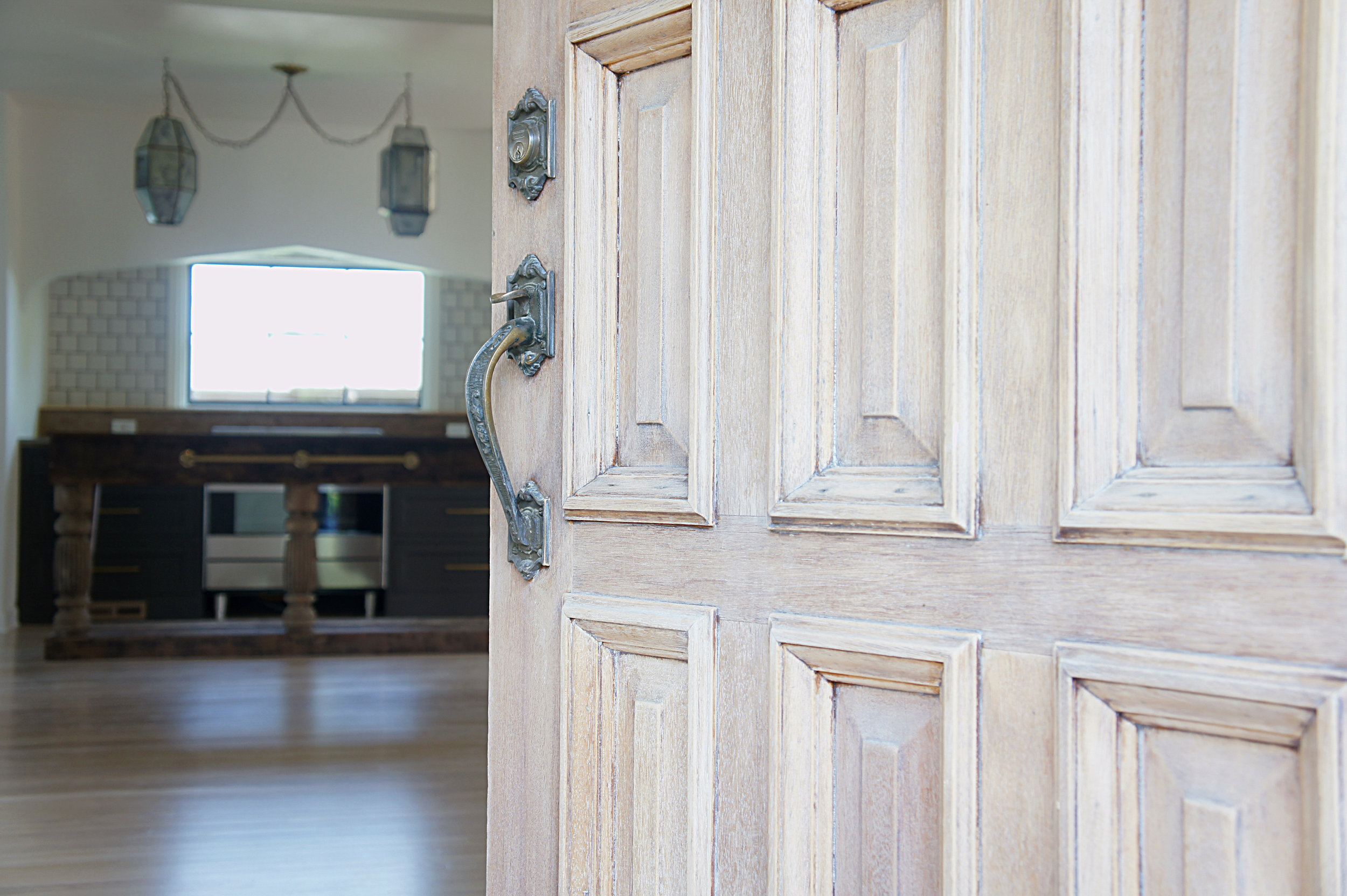 Rustic Front Door by Kaemingk Design