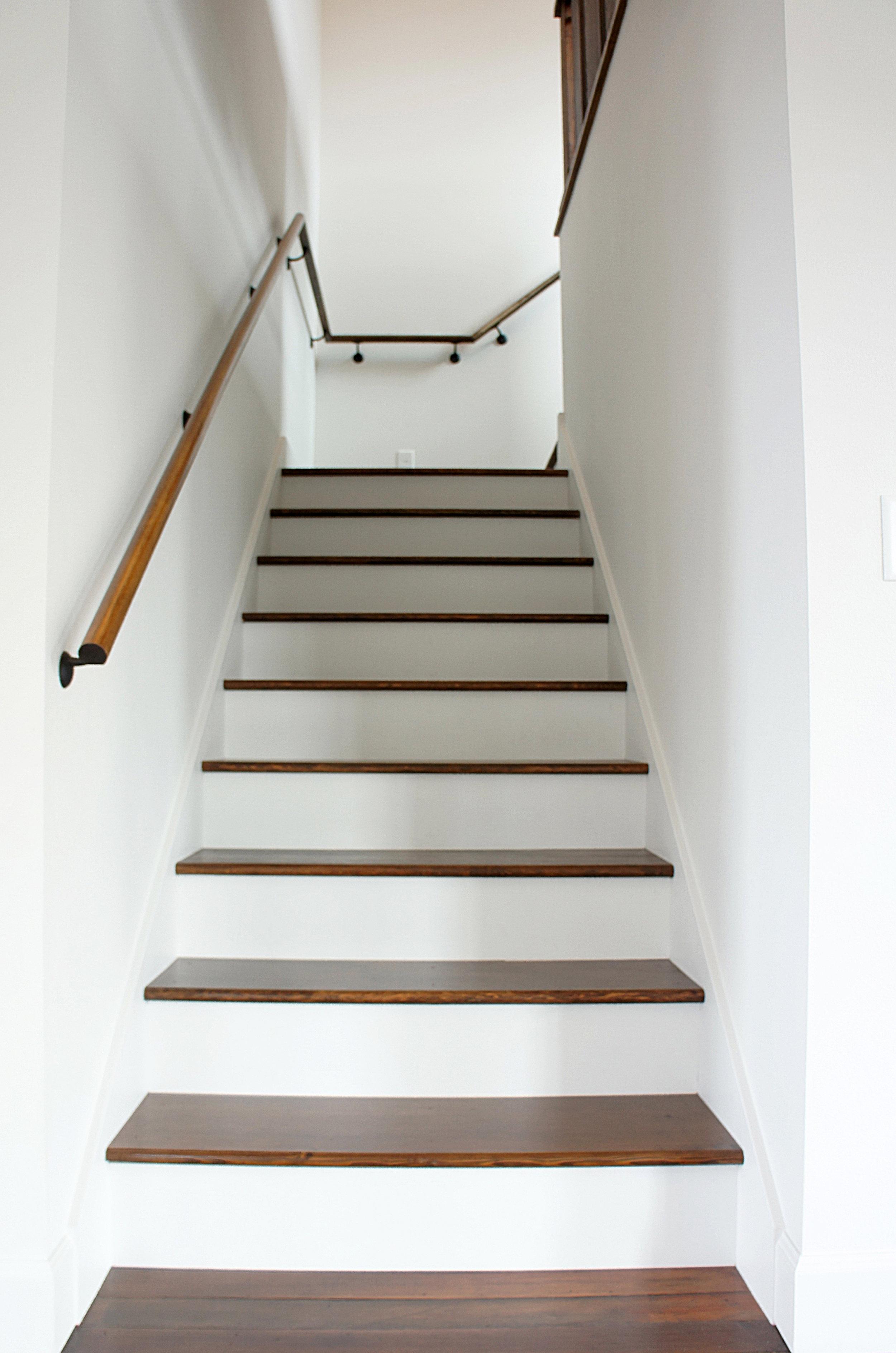 Modern Country Staircase by Kaemingk Design