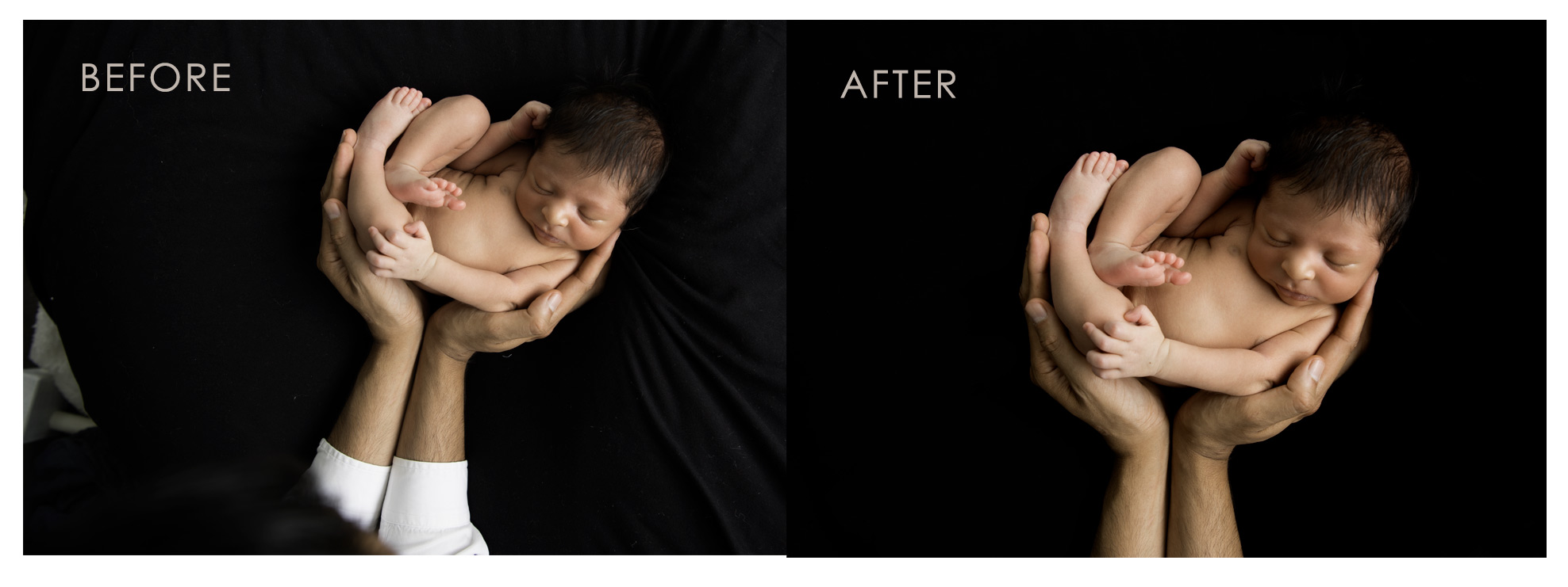 Babies should always be safe and within arms reach of an adult l Newborn Photographer Sydney