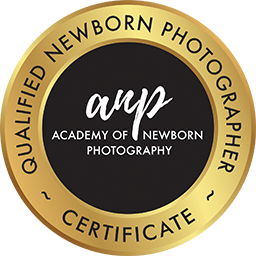 Accredited and safe newborn photographers should have this symbol on their website.