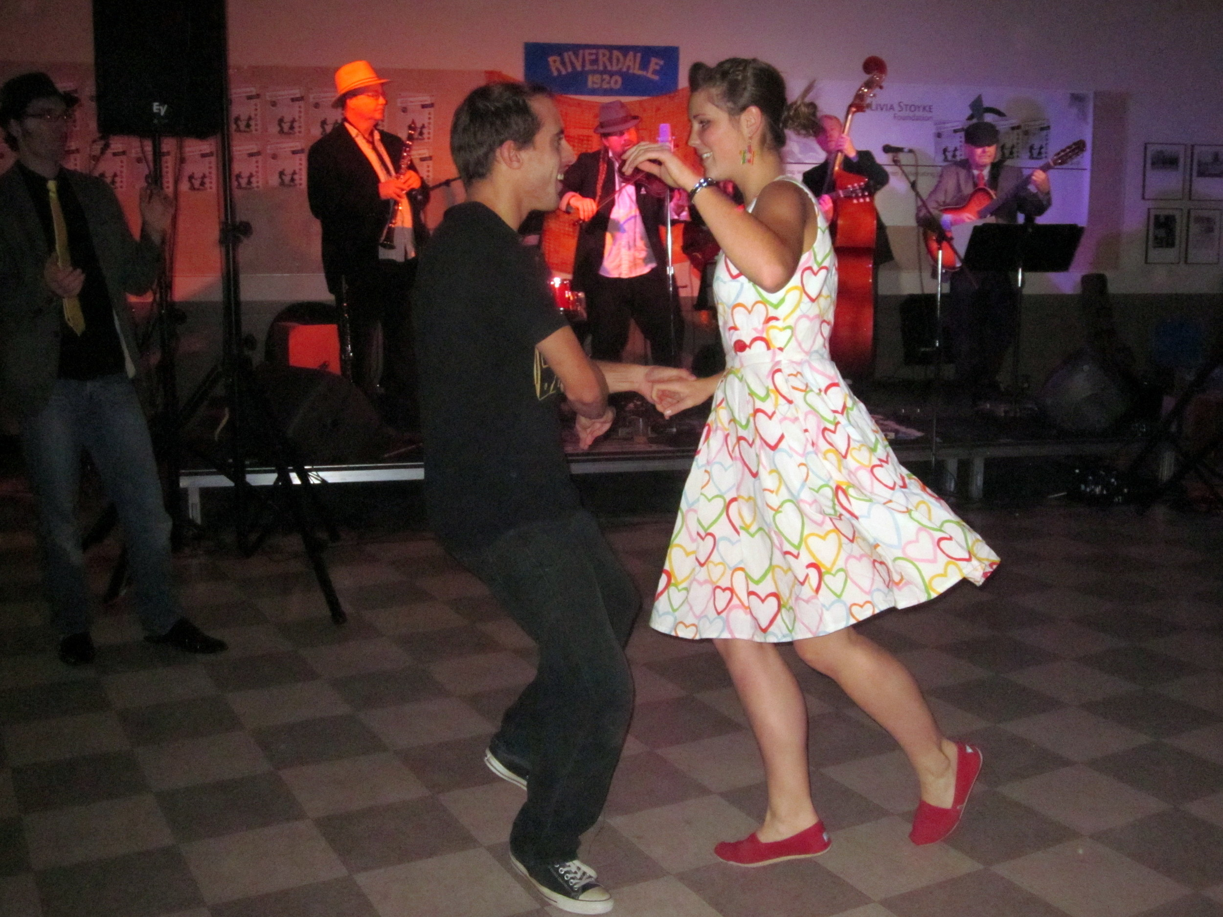 Livia Stoyke Swing Dance Fundraiser