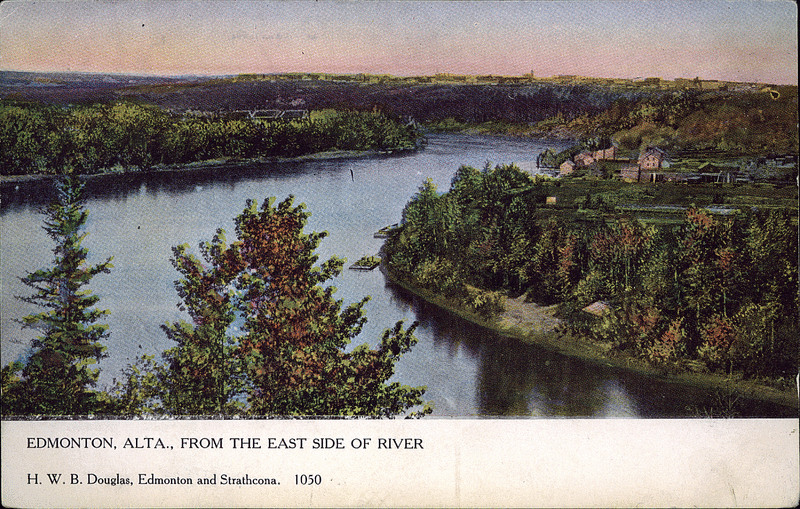 Edmonton, Alta., From east side of river