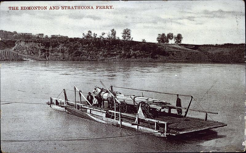Lumbering on the Saskatchewan, Strathcona, Alta
