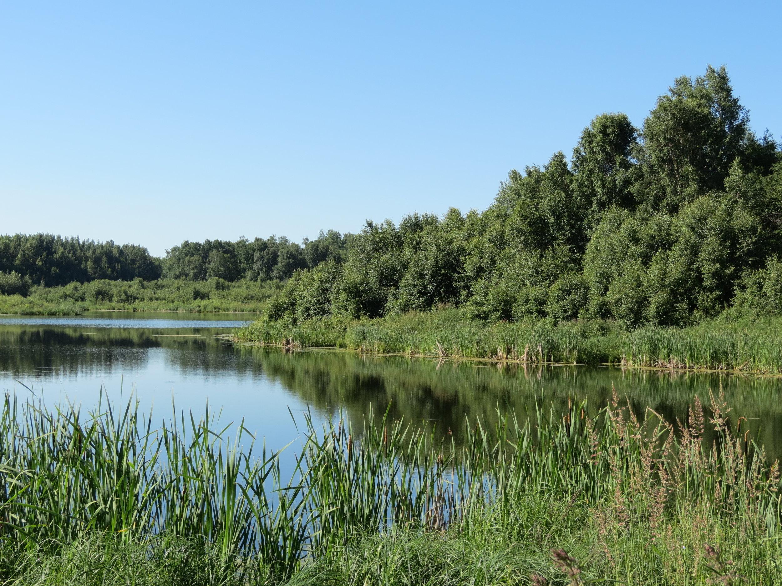 Glory Hills lake.JPG