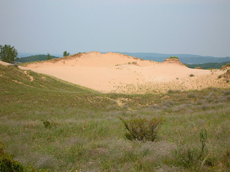 Dune blow-out on the Cottonwood Trail at Sleeping Bear Dunes National Lakeshore. Photo by National Public Service of U.S.
