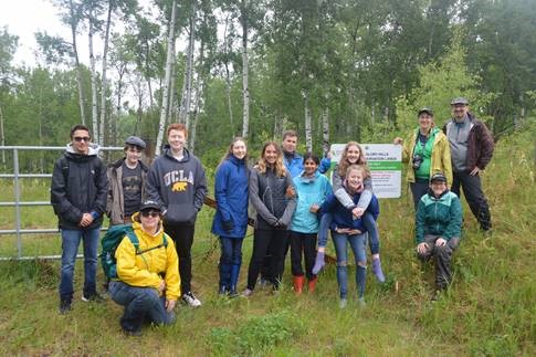Glory Hills field study with Shane's grade 7 and 8 students. The feedback from the students was positive, through the collaborative field work, they were able to make a connection to what they were learning.