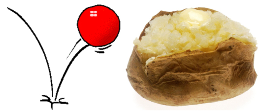 """If you were to throw both a rubber ball and a baked potato onto the ground, what would happen? On contact with the ground, the rubber ball would flatten for a moment, but then regain its shape and spring back up into the air. The baked potato would simply flatten and remain squished on the ground. This is a good analogy of resilience – when people or systems are resilient, they have a greater capacity to """"bounce back,"""" like the rubber ball."""