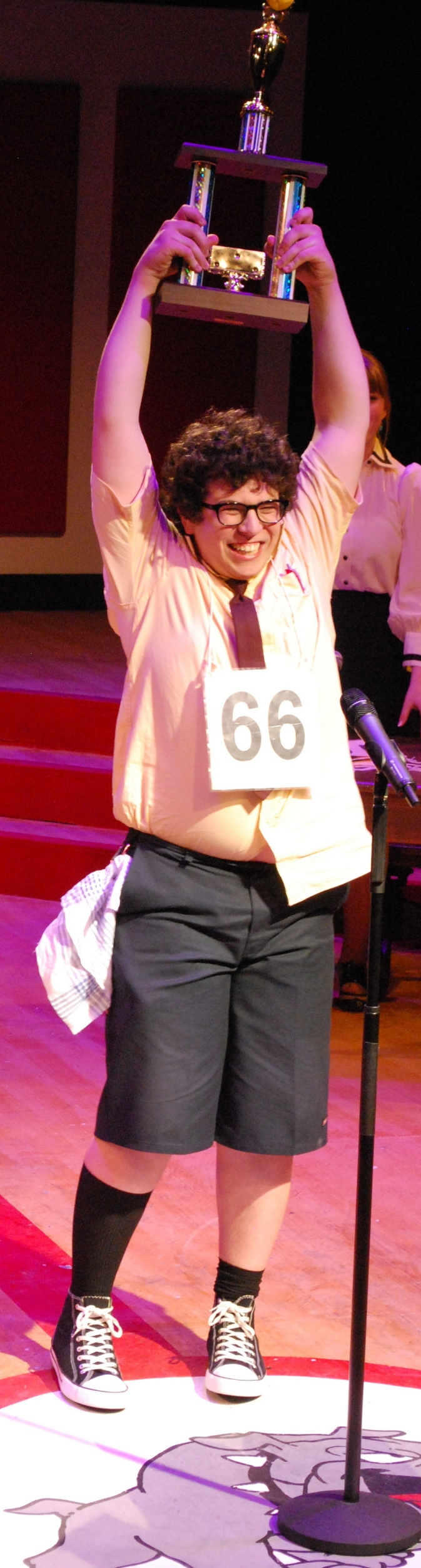 William Barfée in The 25th Annual Putnam County Spelling Bee