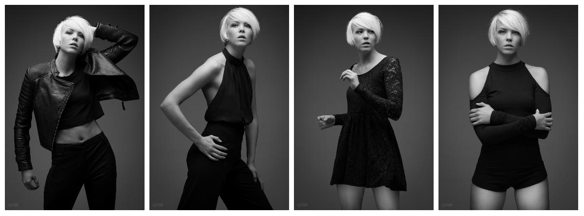 Julie Fashion Collage