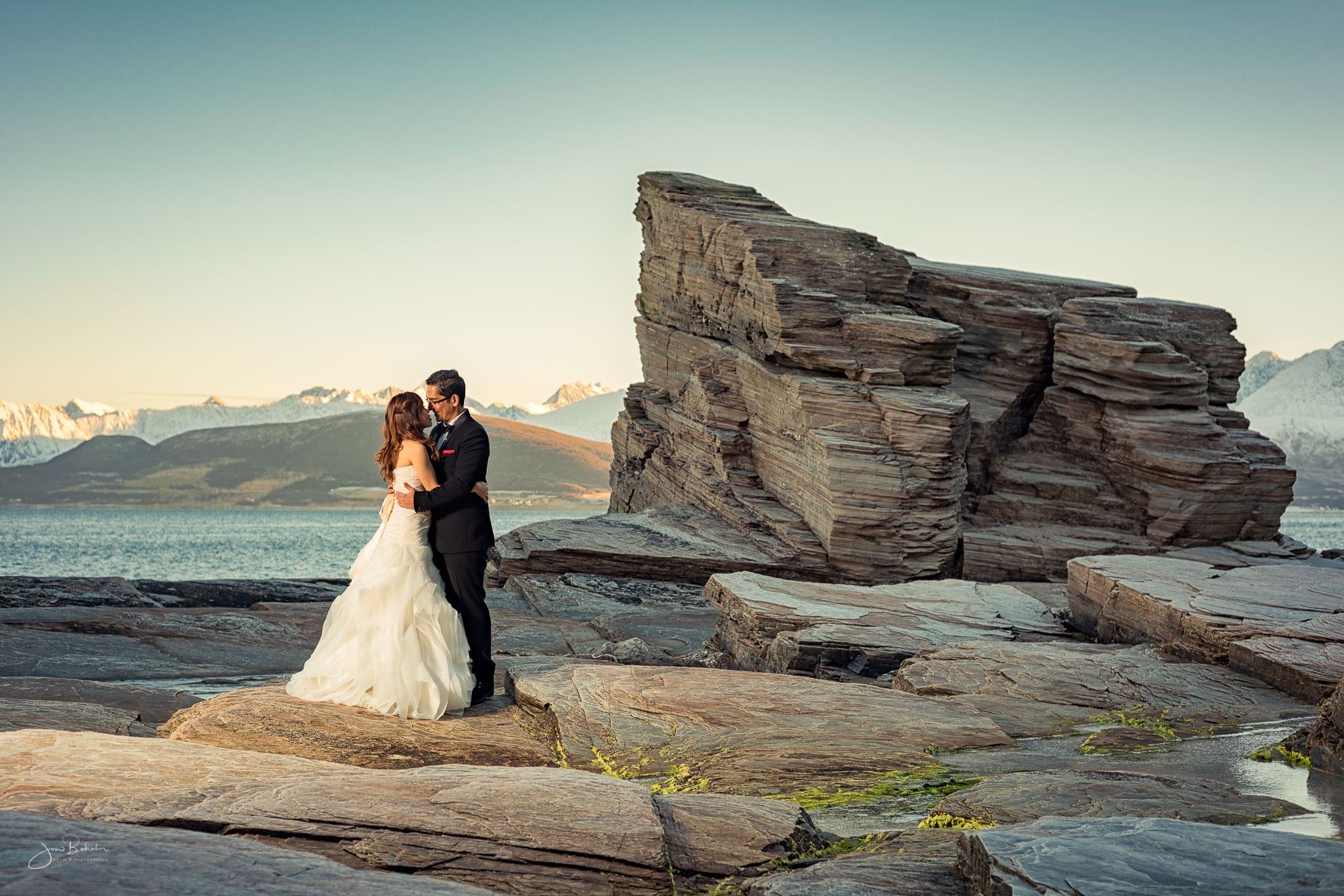 Oldervika is one of my favourite locations in Tromsø, and we were able to get some really nice shots there.