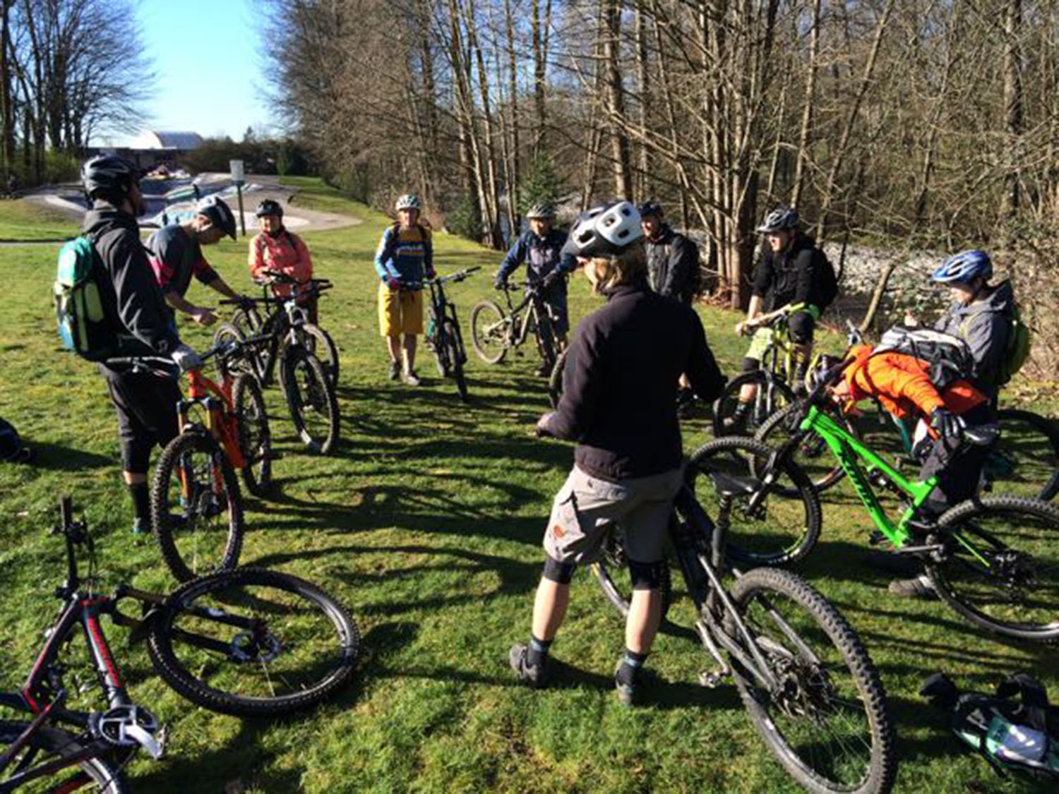 Want to become a mountain bike instructor & guide? We can lead you through the process!    Learn more!