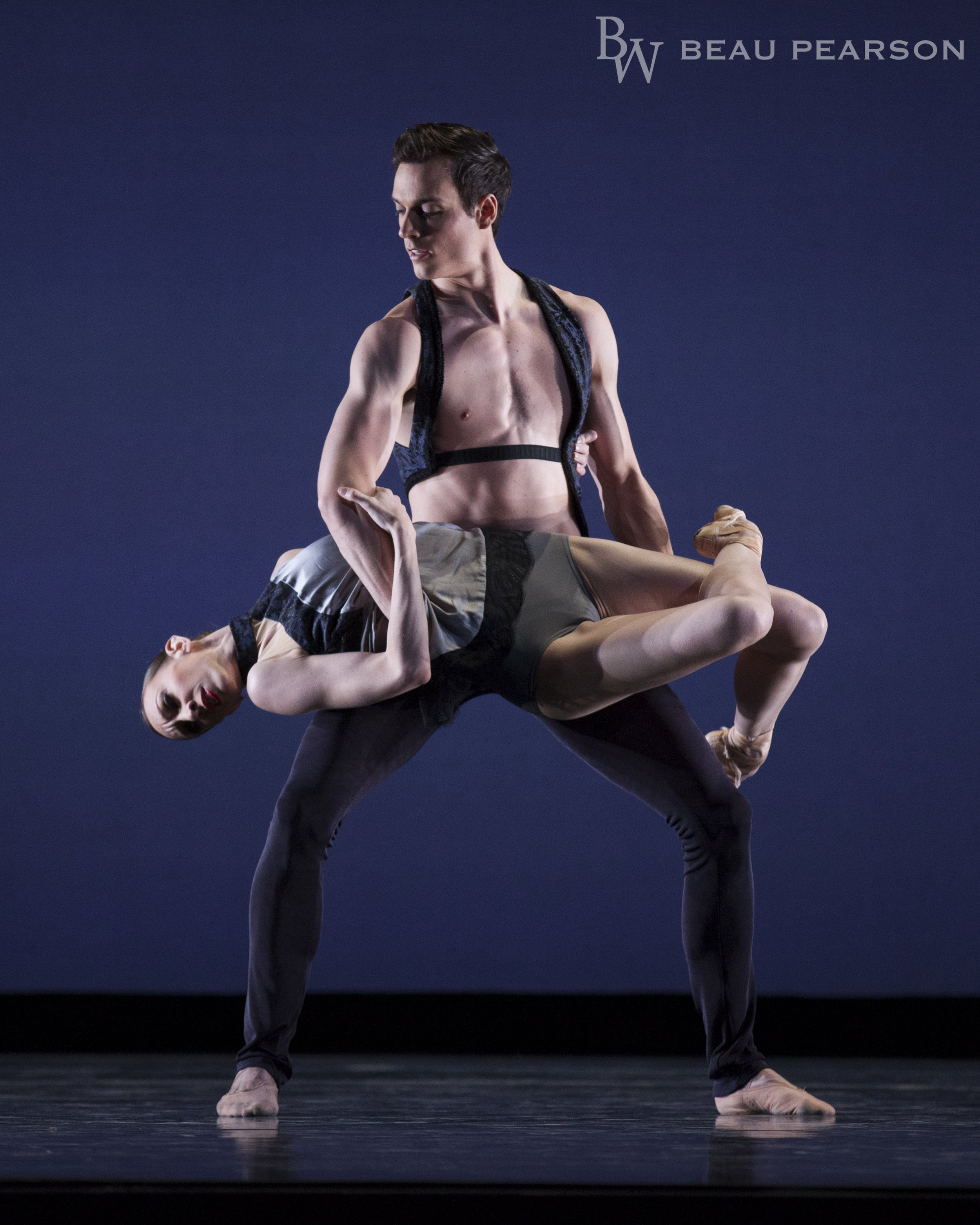 Ballet West First Soloist Jacqueline Straughan and Principal Chase O'Connell in Nicolo Fonte's  Fox on the Doorstep .