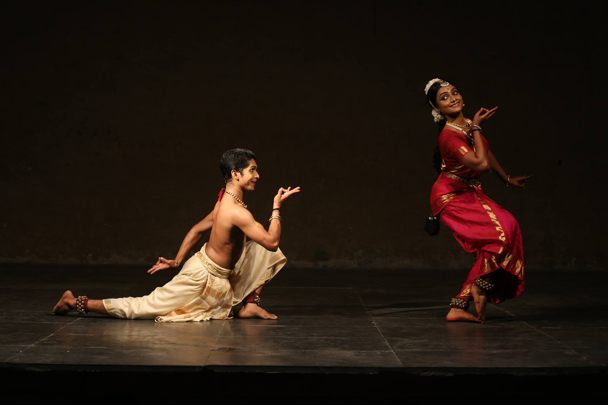 Renjith and Vijna, photo courtesy of Chitrakaavya Dance.