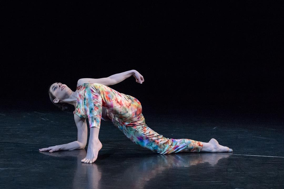 "Melissa Younker in Joanna Kotze's ""Star Mark."" Photo by Stuart Ruckman."