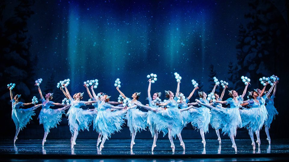 Artists of Ballet West in Willam Christensen's  The Nutcracker.  Photo by Beau Pearson.