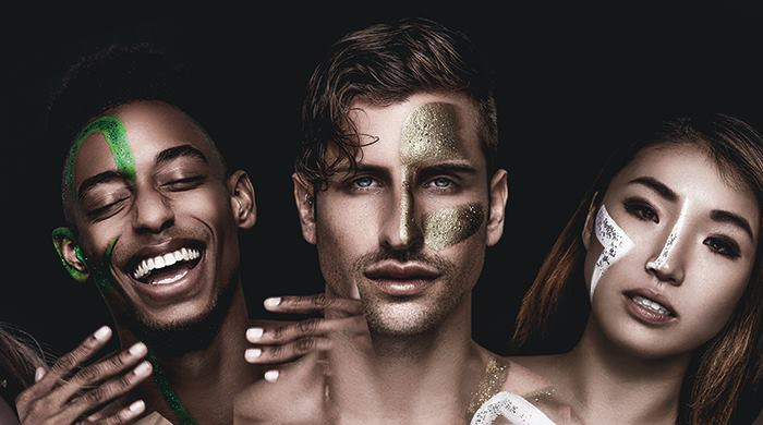 Press image for  Star Dust  by Complexions Contemporary Ballet.