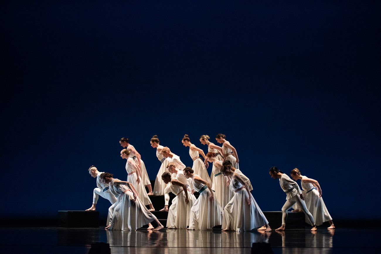 "RDT in ""Passacaglia and Fugue in C Minor"" by Doris Humphrey. Photo by Sharon Kain."