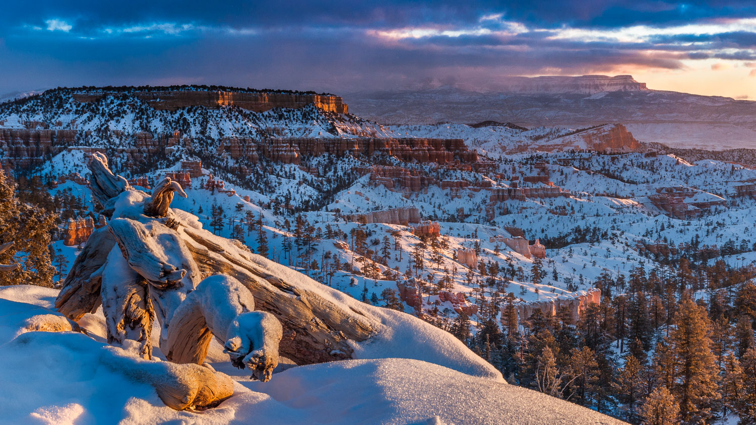 """Fairyland Winter"" near Sunrise Point, Bryce Canyon National Par"