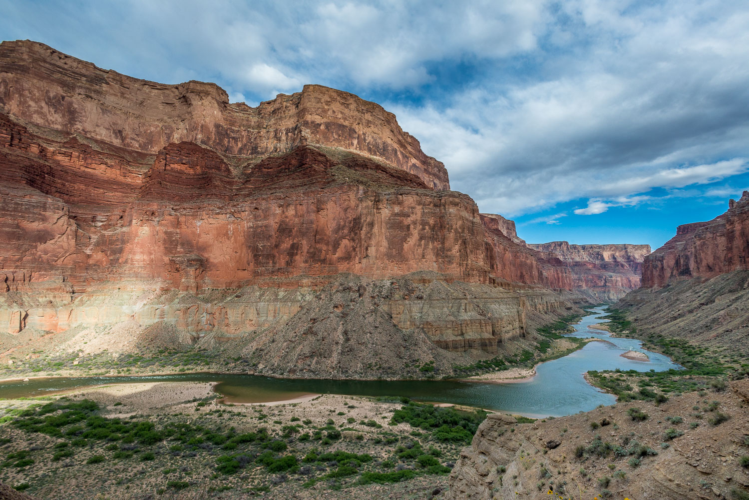 """Nankoweap Sweep"" , a Classic Vista in Grand Canyon National Par"
