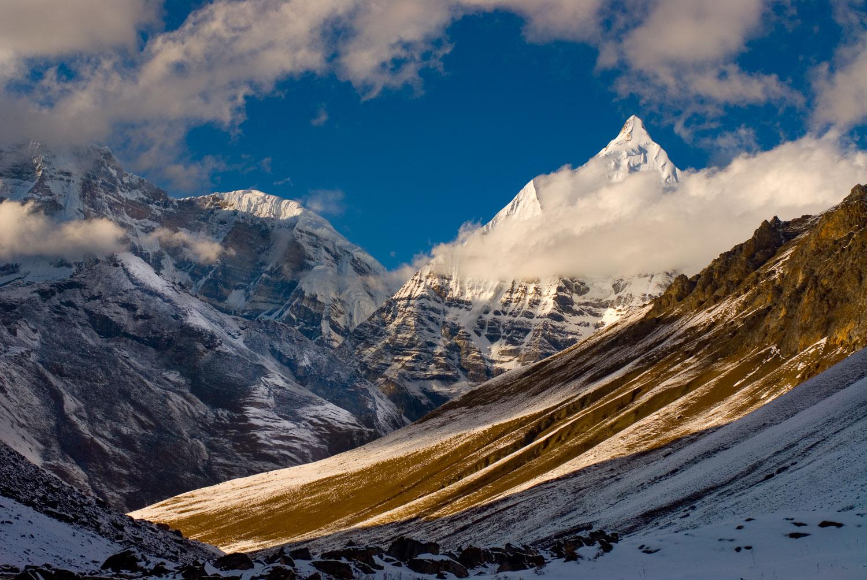 """Jichu Drake"" Jhomolari Trek, Himalayas, Bhutan"