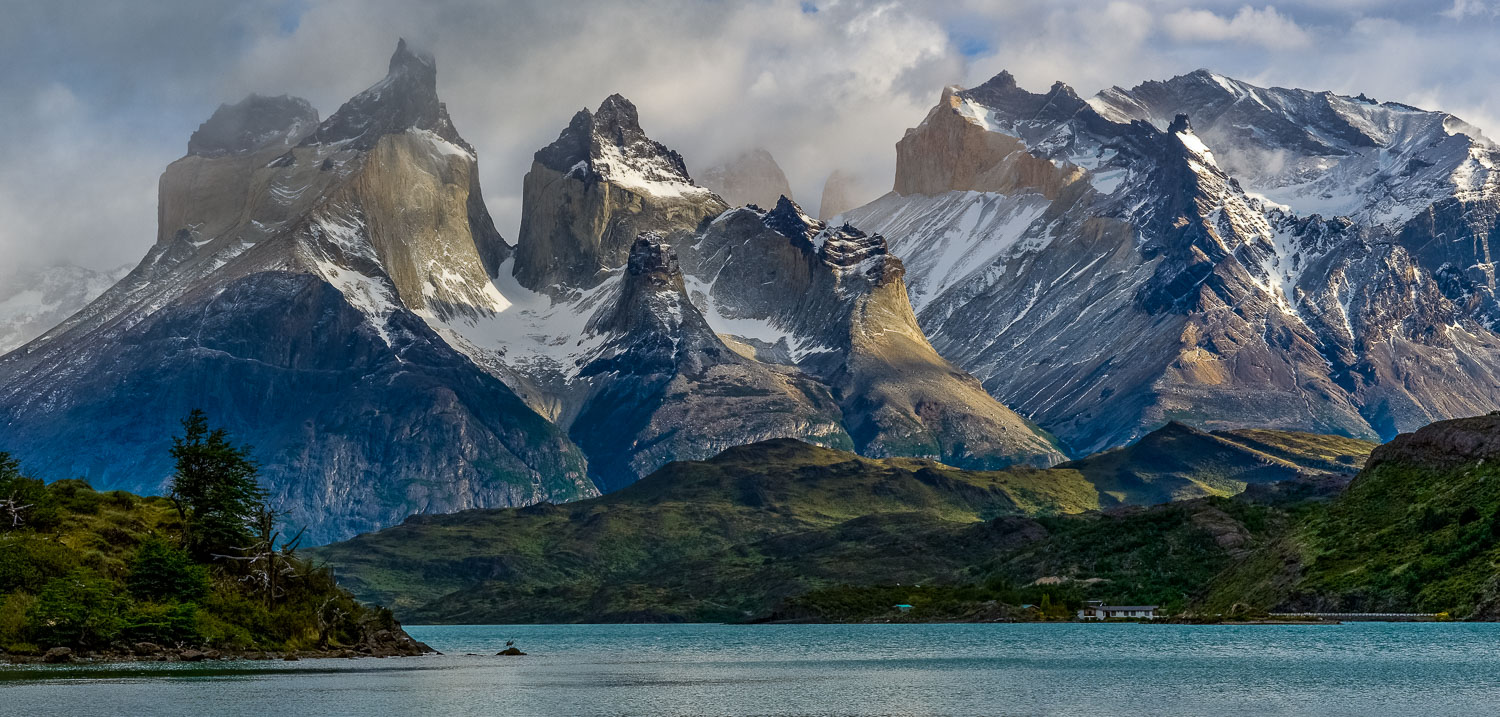 """Patagonian Sweep"", Paine Towers and Cuernos, Torres del Paine N"