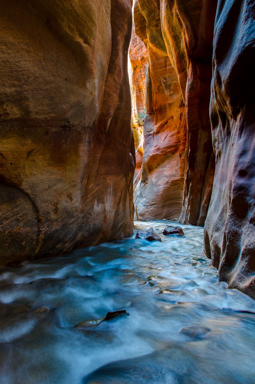 """Slots Soul"" , Kanarra Creek is a Slot Canyon near Zion National"