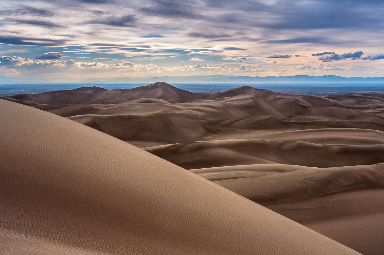 """Sand Dunes Mantra"" , Great Sand Dunes National Park near Alamos"