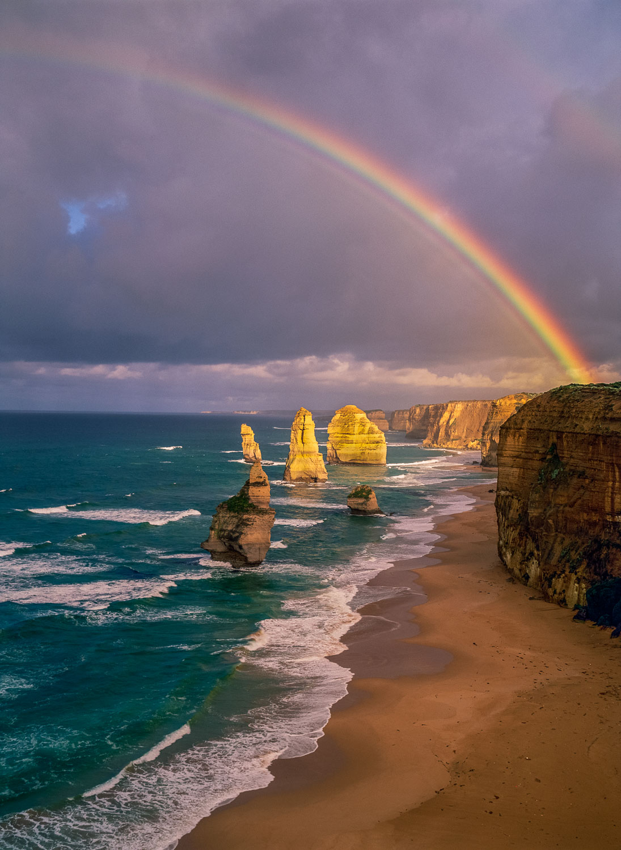 """Twelve Apostles Rainbow"" ,Victoria, Australia"