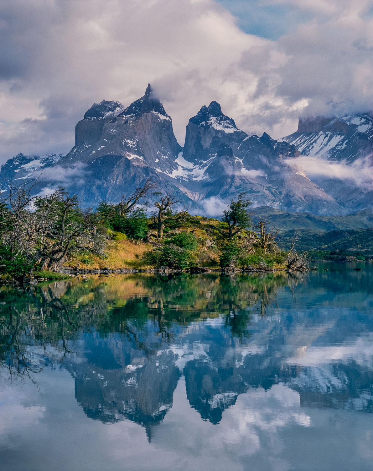 """Paine Mirror"", BBC Award Winning photograph at Torres Del Paine"