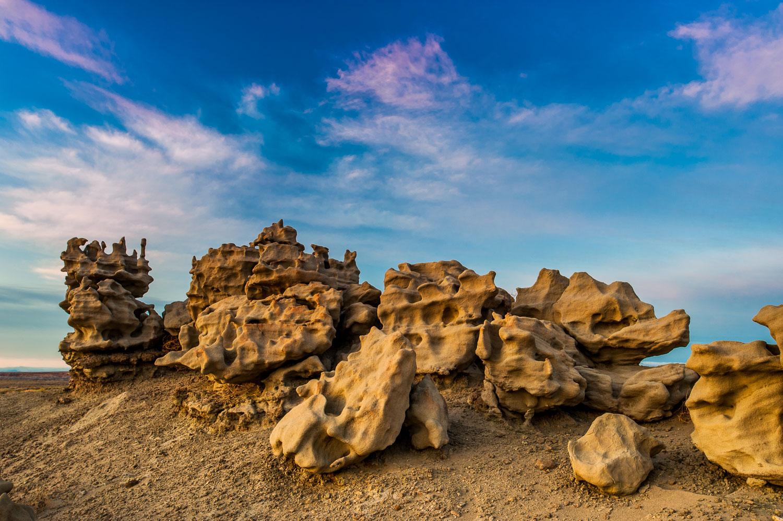 """""""Fantasy Rocks"""" Weathered Rocks at Fantasy Canyon, near Vernal,U"""