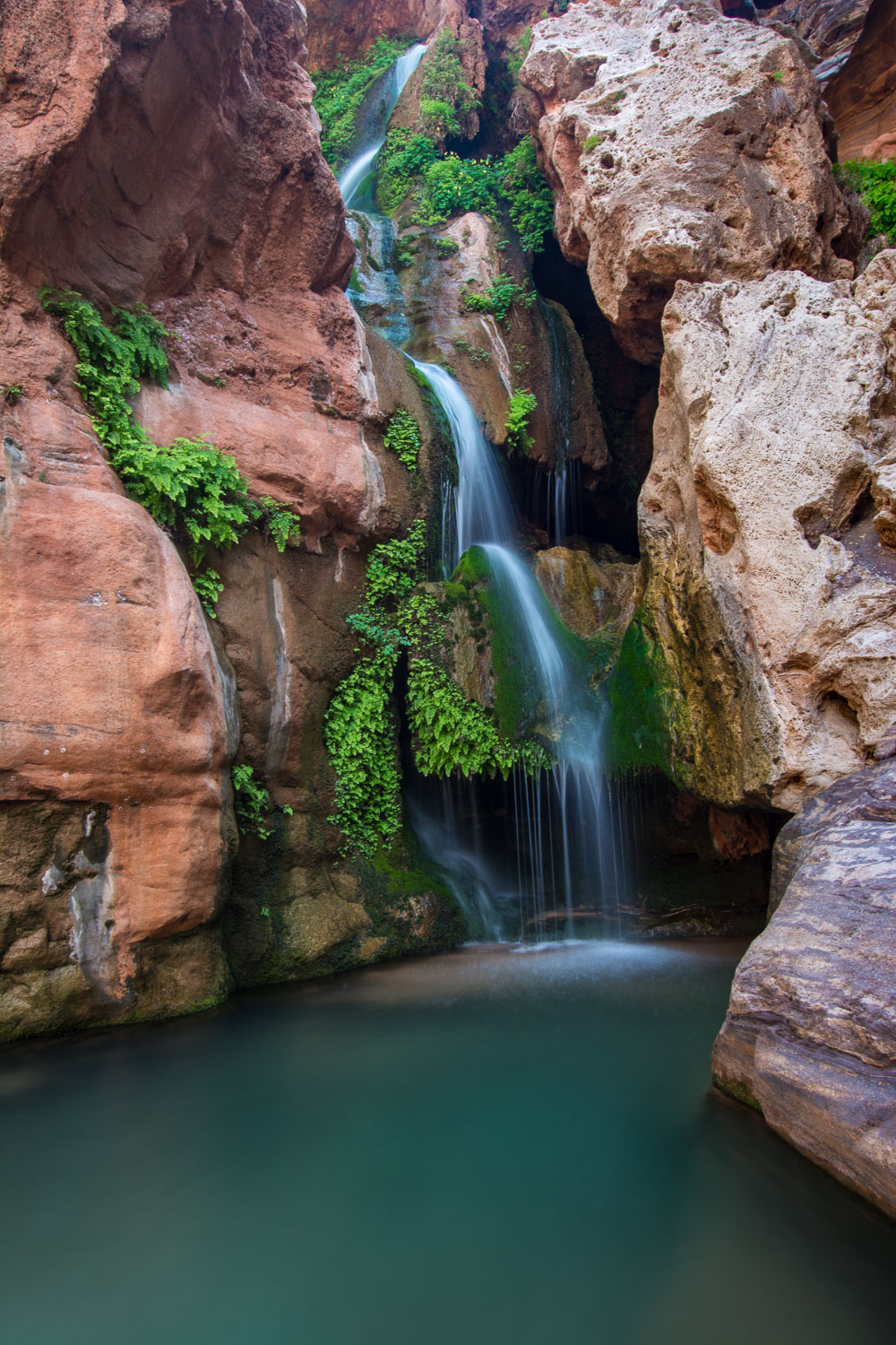 """Elves Chasm Magic"", Grand Canyon National Park, Arizona"