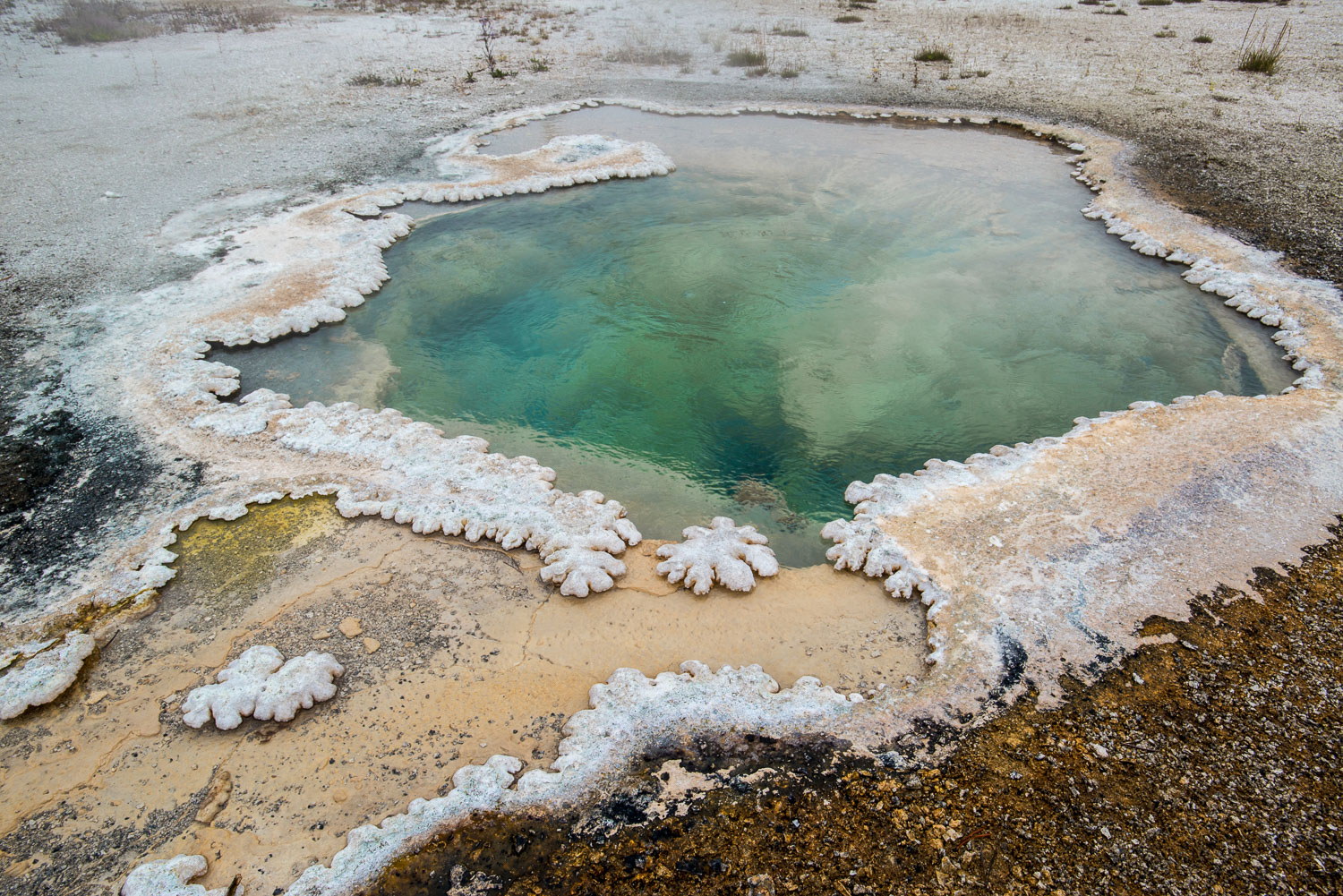 Shoshone Aqua Pool, Shoshone Geyser Basin, Yellowstone National