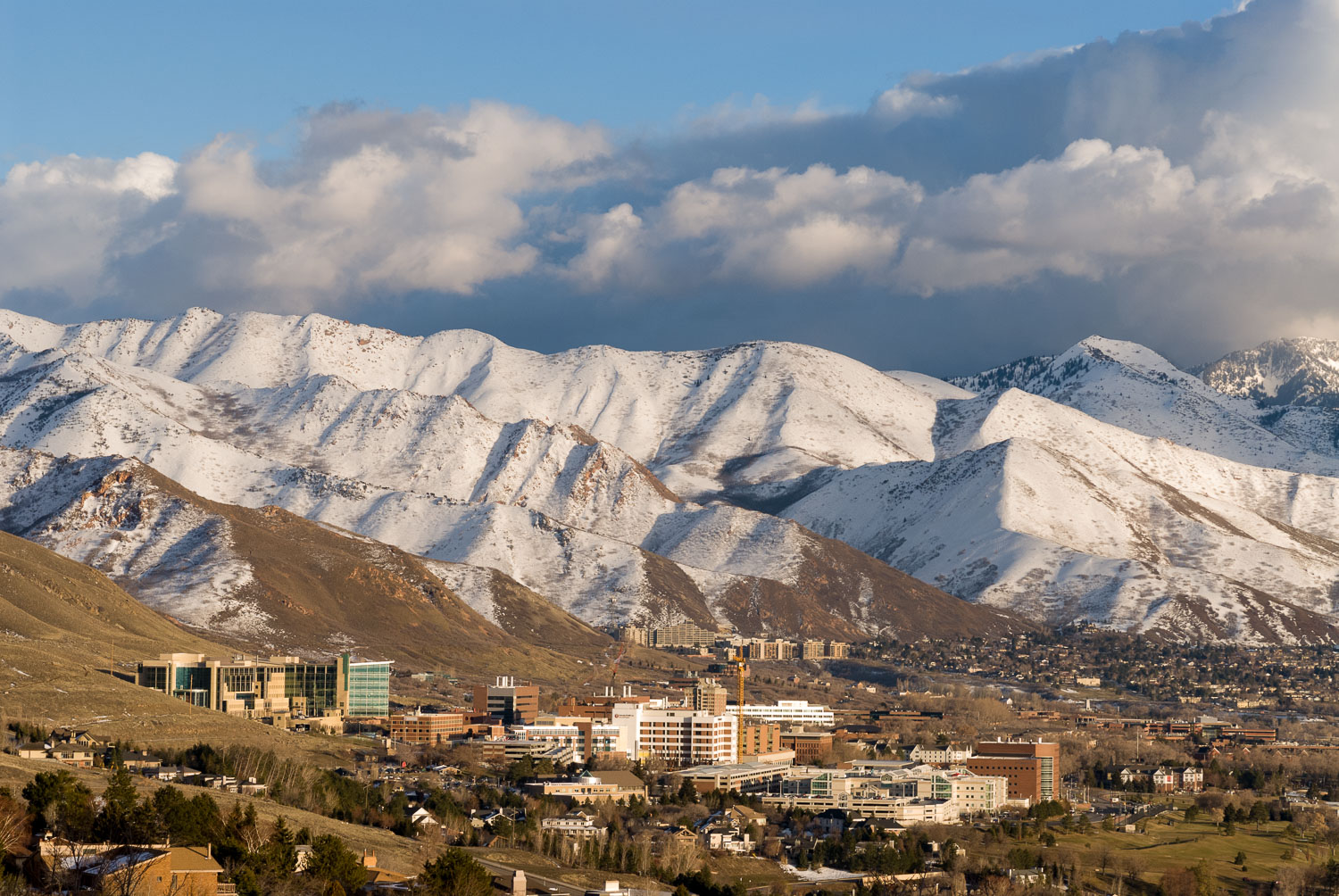 University of Utah and University Hospital  in proximity to  Was