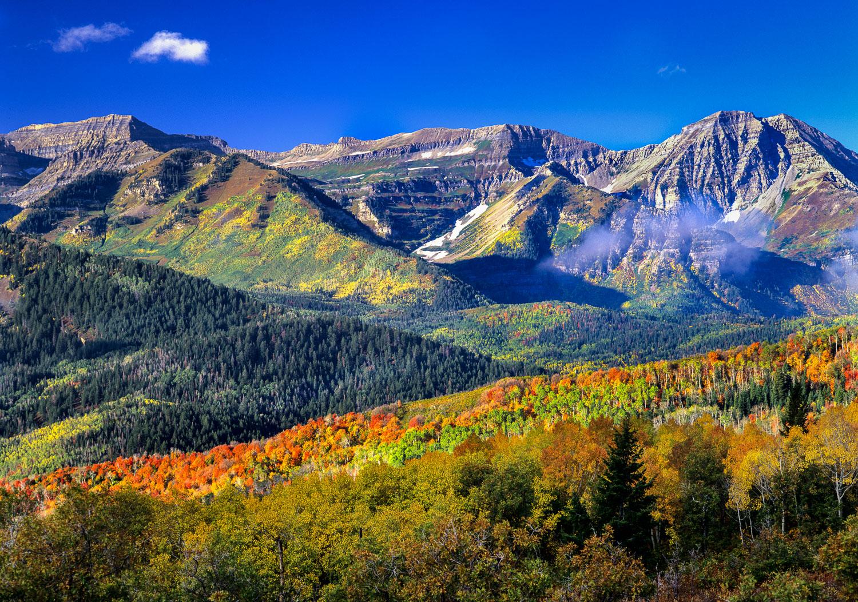 """Change of Seasons"": Alpine Scenic Loop and Mount Timpanogos, Wa"