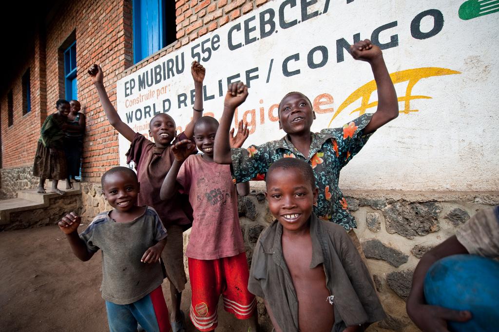 Children in Congo, North Kivu