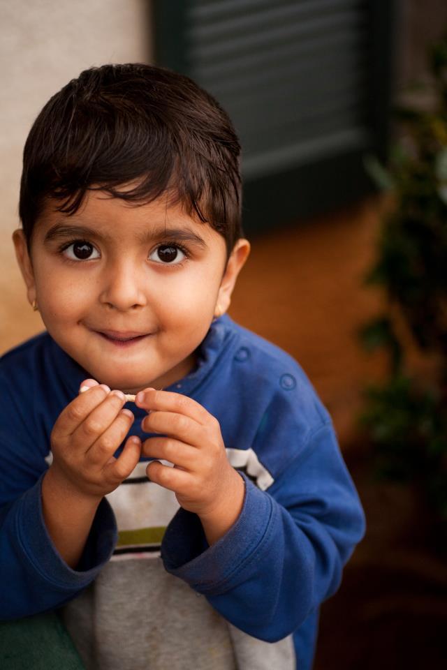 cute kid refugee