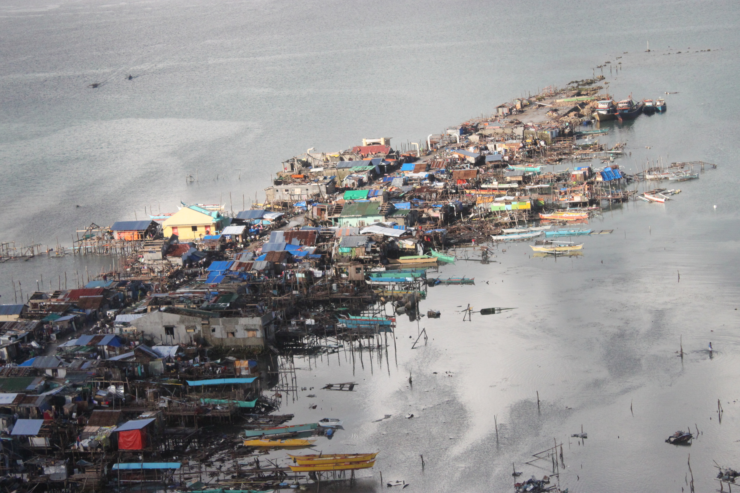 Coastal communities Leyte devastated
