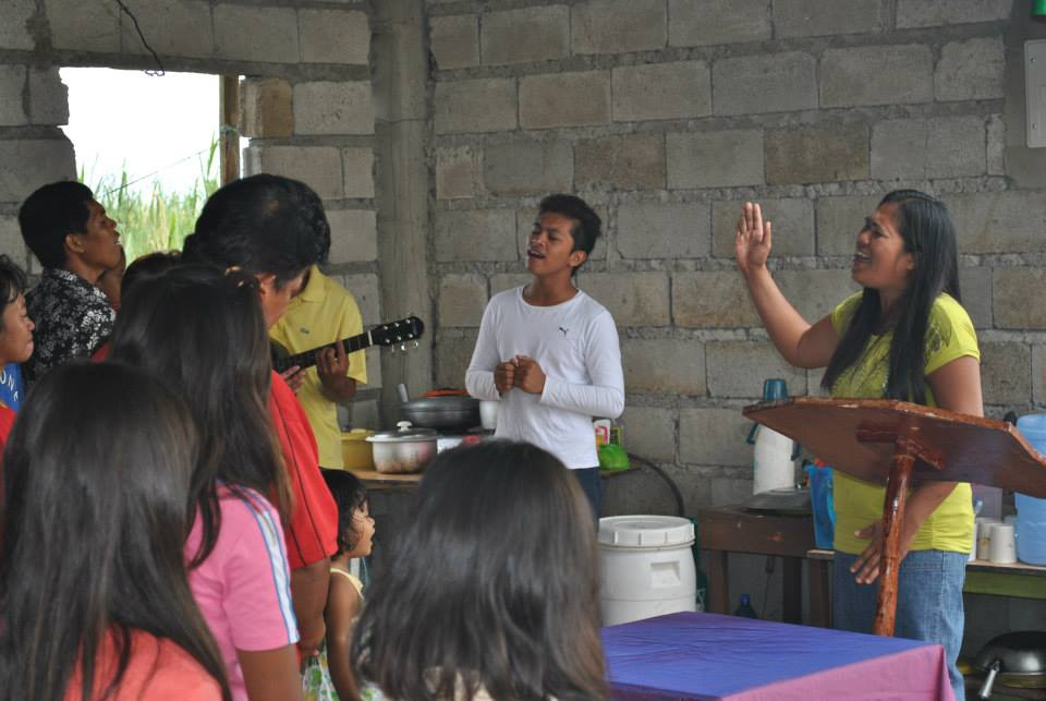 Harvest Church worship service