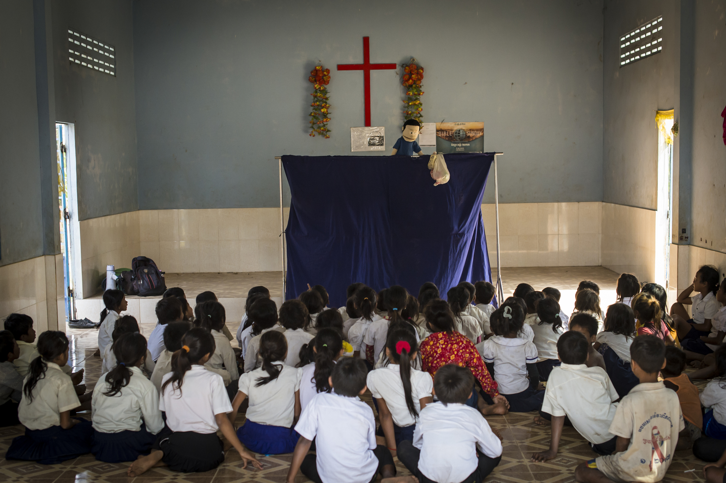 November 7 blog - Puppet show in Cambodia