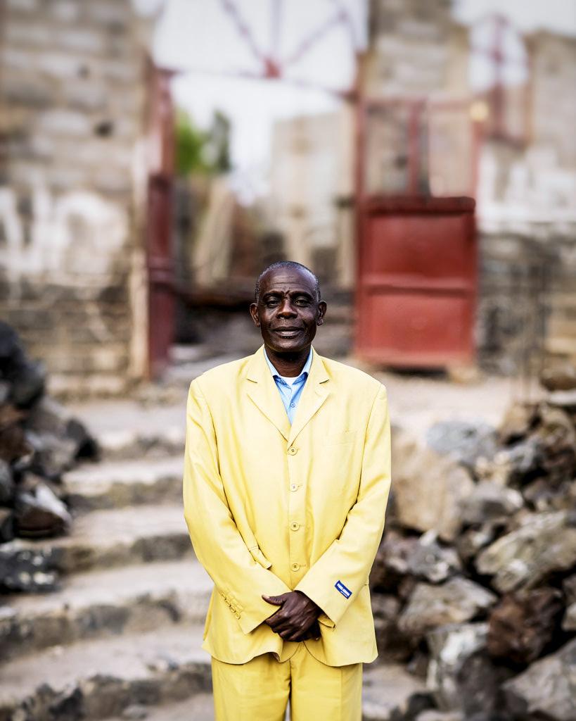 Pastor Fabian in Congo