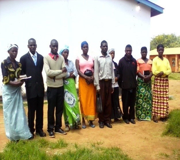 December 1 blog_pic of Consolata and group