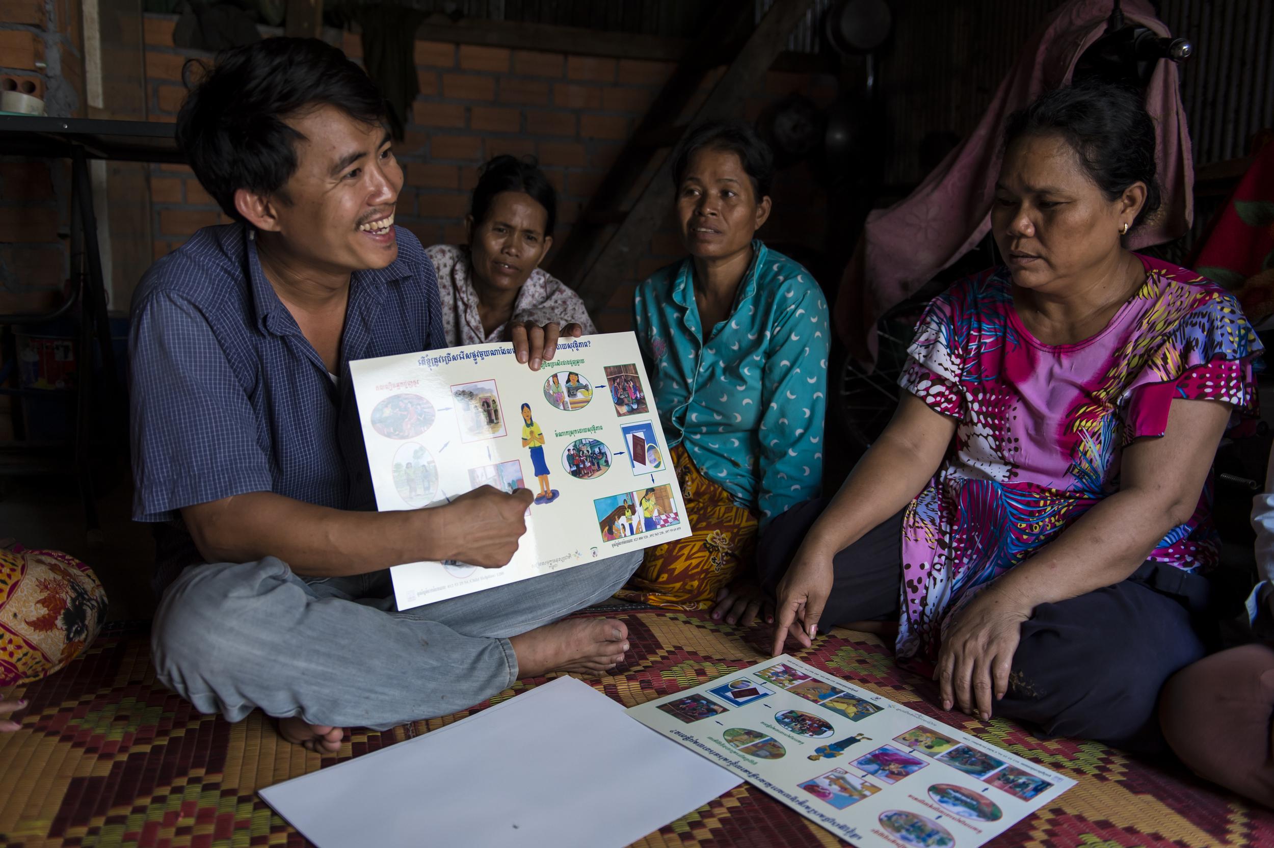 World Relief - Phnom Penh, Cambodia, March 4, 2014