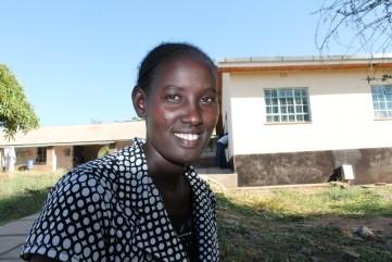 Emily in Kenya