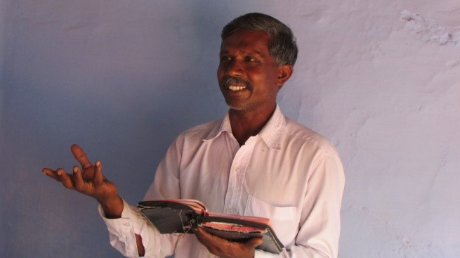 Pastor Abraham in India