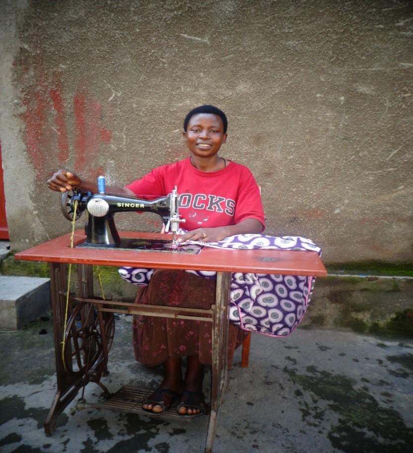 Odette in Rwanda