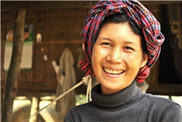Yim Srey Oun in Cambodia