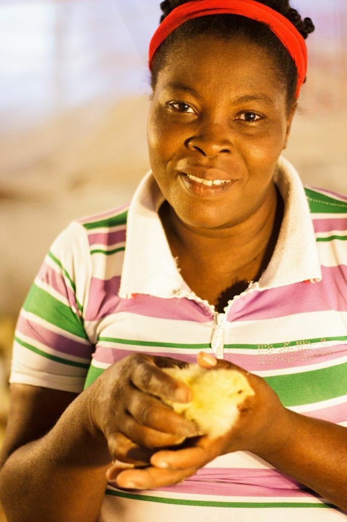 Monique in Haiti