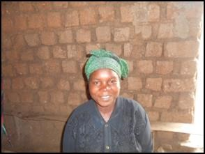 Cecile, a woman from DR Congo